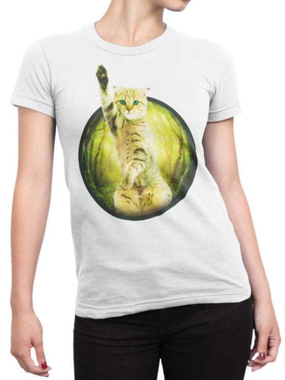 0009 Cute Shirt Hey Front Woman 1