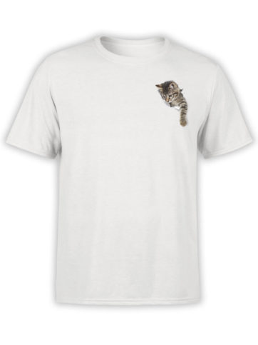 0042 Cat Shirts Paper Hole Front