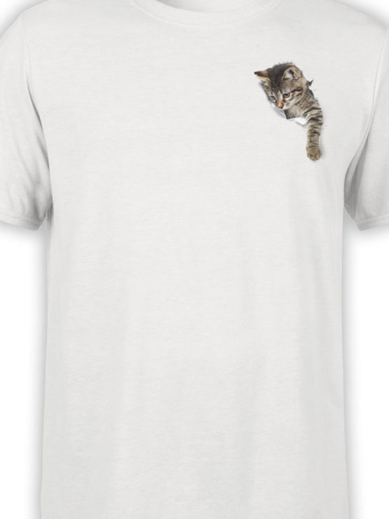 0042 Cat Shirts Paper Hole Front Color