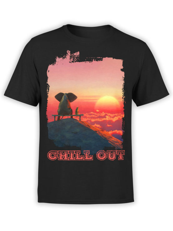 0046 Cute Shirt ChillOut Front