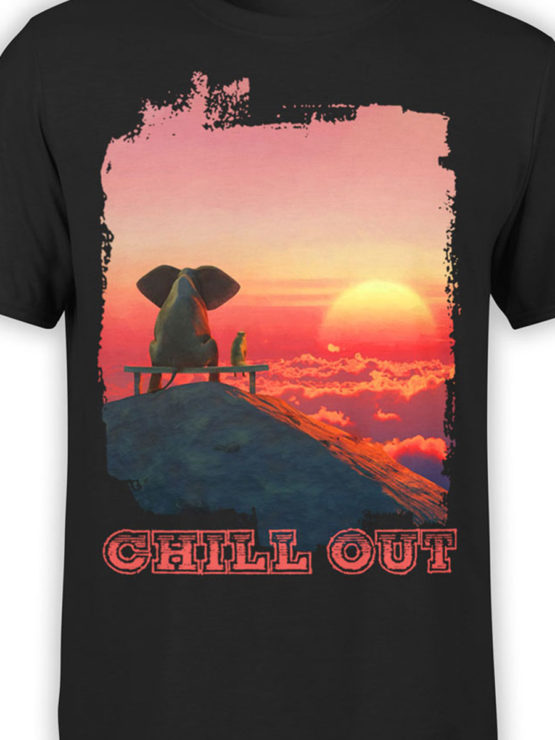 0046 Cute Shirt ChillOut Front Color