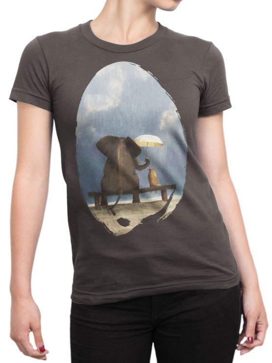 0082 Cute Shirt Friends Front Woman