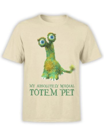 0203 Cute Shirt Totem Front Natural