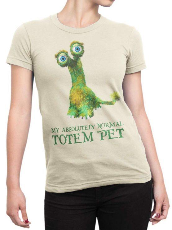 0203 Cute Shirt Totem Front Woman