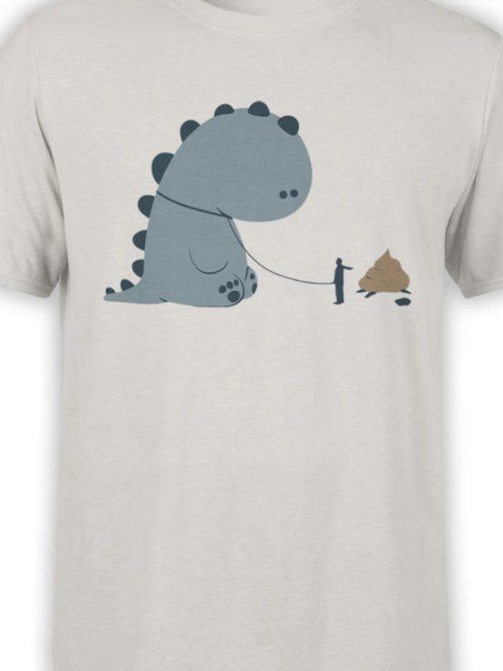 0229 Cute Shirt Poop Front Color
