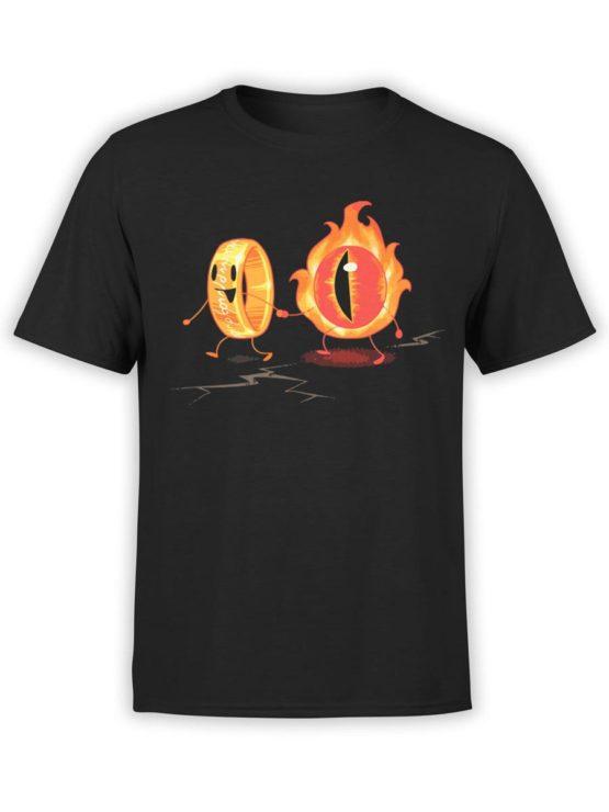 0316 Cute Shirt Friendship Front Black