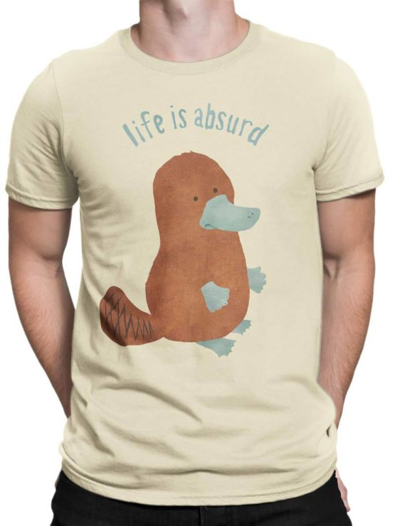 0434 Cute Shirt Absurd Front Man