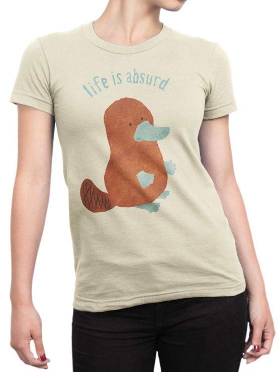 0434 Cute Shirt Absurd Front Woman