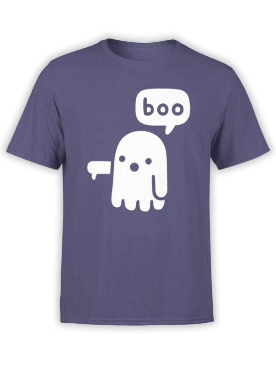 0439 Cute Shirt Boo Front Navy