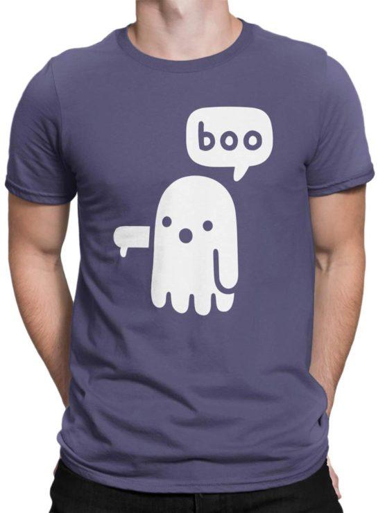 0439 Cute Shirt Boo Front Man