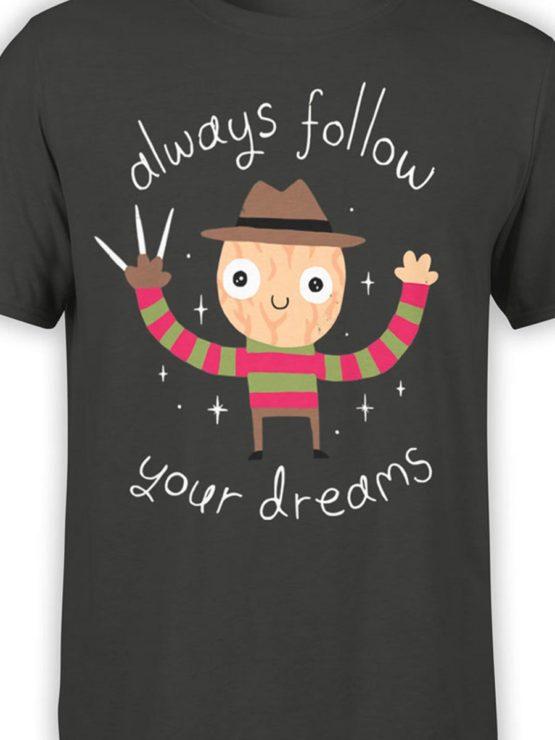 0452 Cute Shirt Dreams Front Color