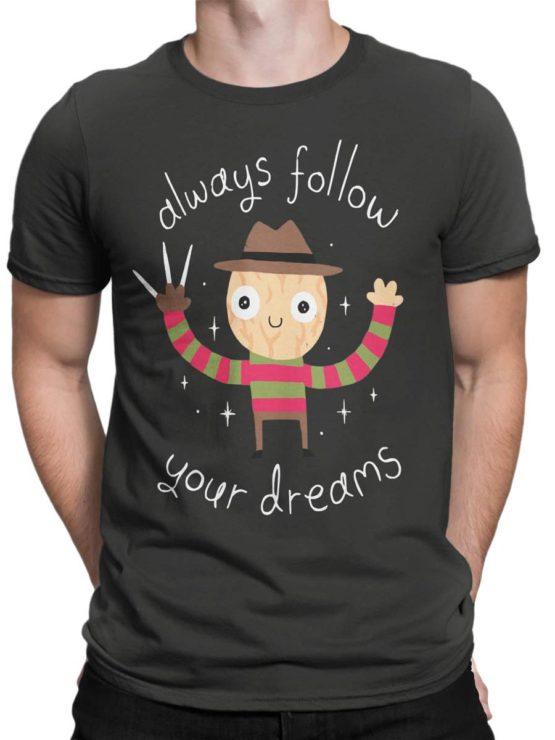 0452 Cute Shirt Dreams Front Man