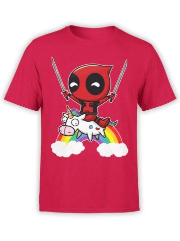 0478 Unicorn Shirt Deadpool Front