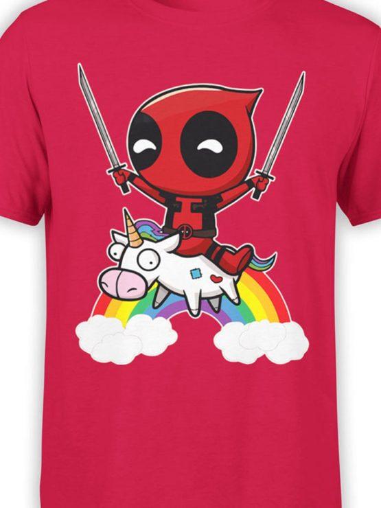 0478 Unicorn Shirt Deadpool Front Color