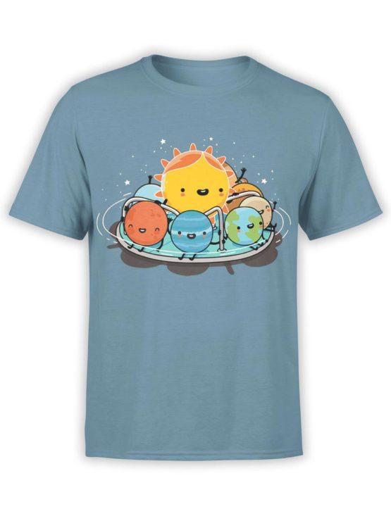 0484 Cute Shirt Solar Family Front
