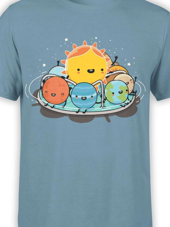 0484 Cute Shirt Solar Family Front Color