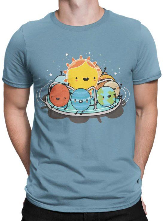 0484 Cute Shirt Solar Family Front Man