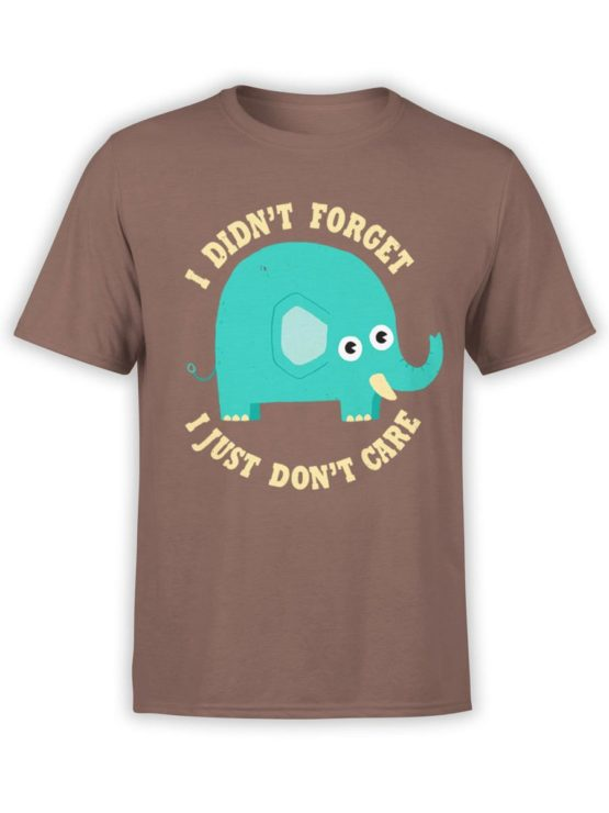 0539 Cute Shirt Solar Dont Care Front Brown