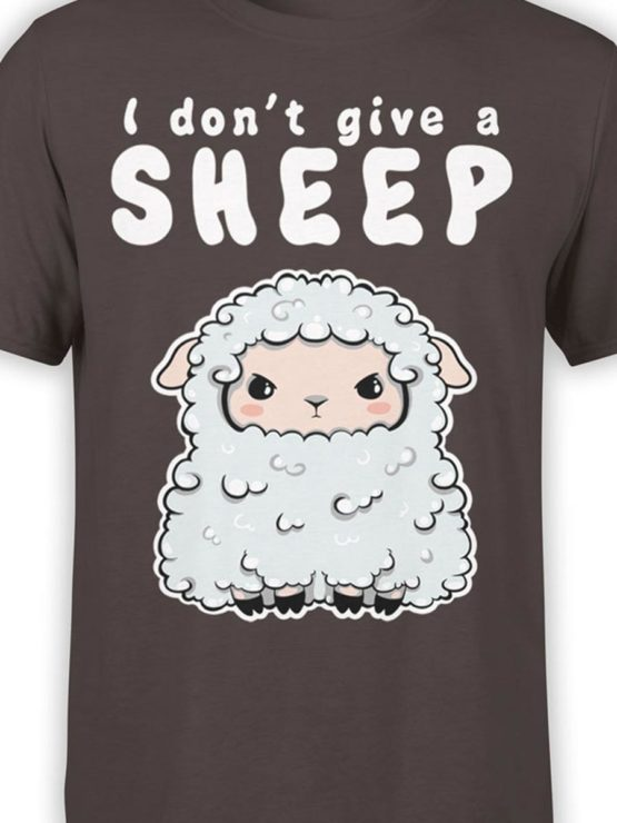 0570 Cute Shirt Give a Sheep Front Color