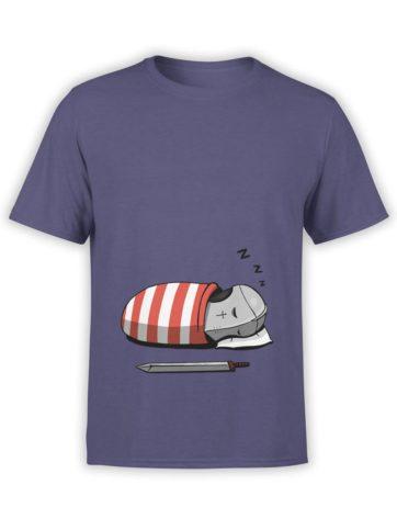 0583 Cute Shirt Cute Knight Front