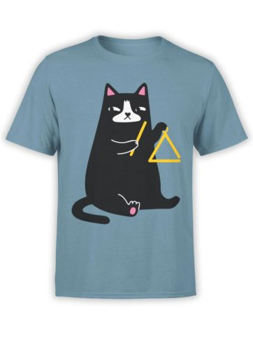 0588 Cat Shirts Triangle Front