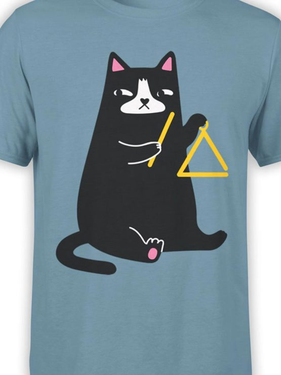 0588 Cat Shirts Triangle Front Color