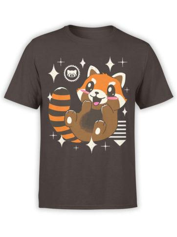 0613 Panda Shirt Kawaii Red Panda Front