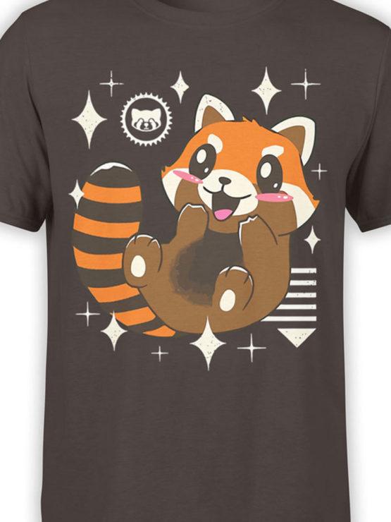 0613 Panda Shirt Kawaii Red Panda Front Color