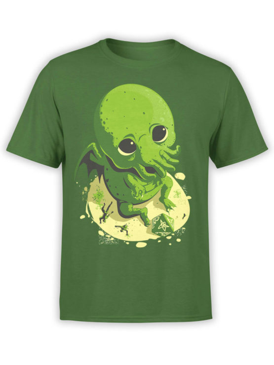 0618 Cthulhu Shirt Wants to Play FrontForest