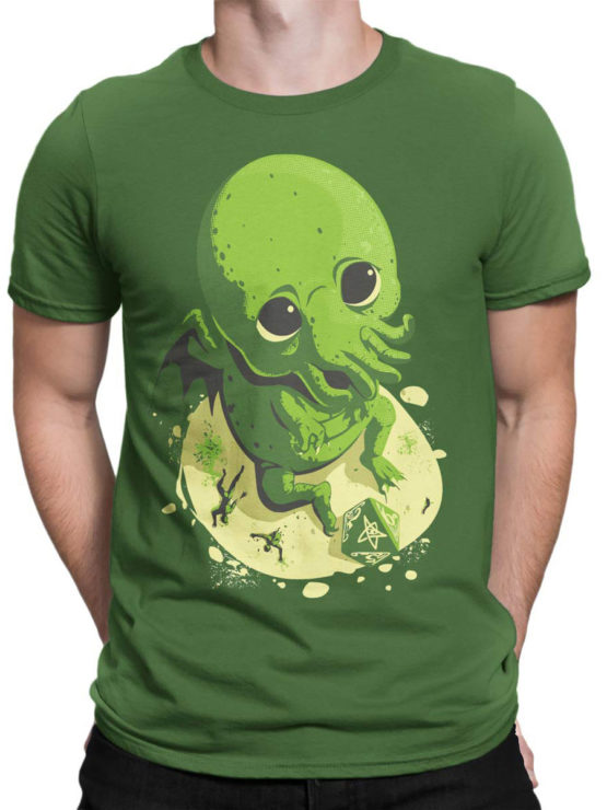 0618 Cthulhu Shirt Wants to Play Front Man