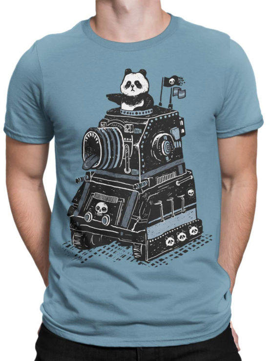 0635 Panda Shirt Attack Front Man