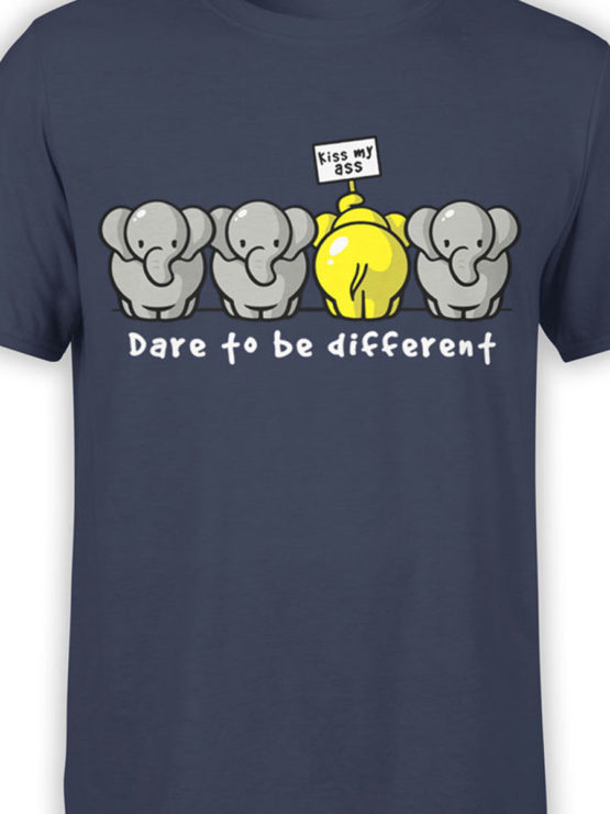 0679 Elephant Shirt Be Different Front Color