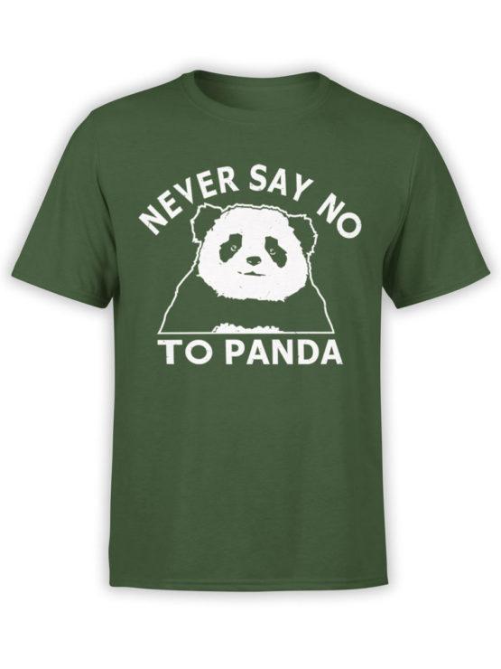 0682 Panda Shirt Never Say No Front