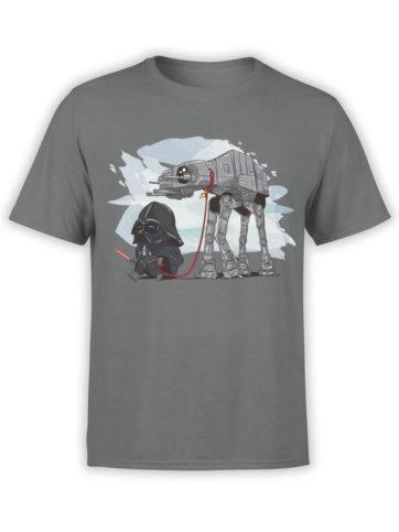 0691 Star Wars T Shirt Cute Vader Front