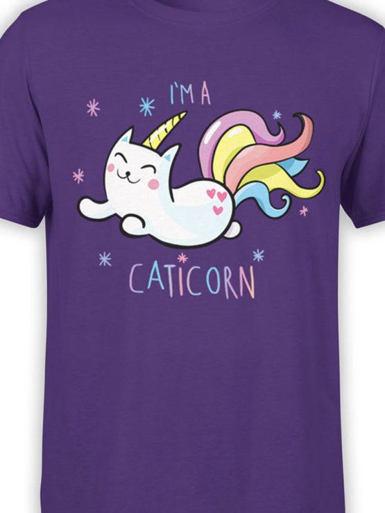 0703 Unicorn Shirt Caticorn Front Color