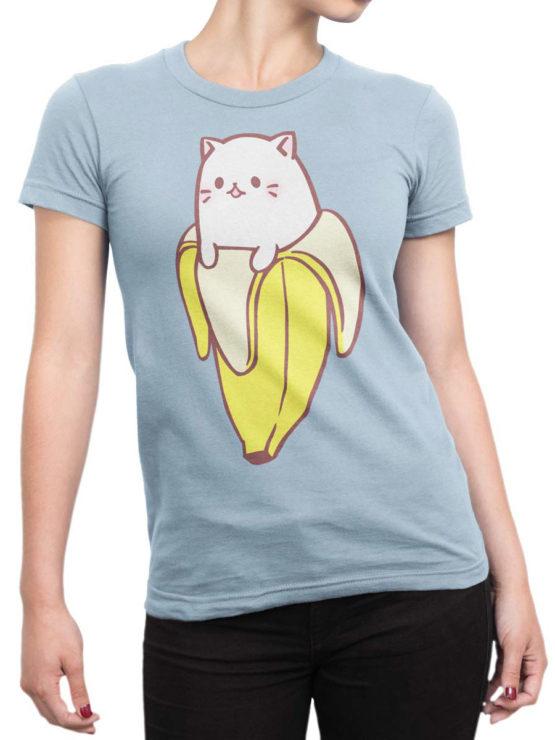 0707 Cat Shirts General Bananya Front Woman