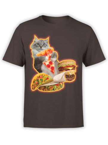 0735 Cat Shirts Hungry Front