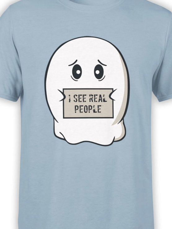0890 Ghost Shirt Real People Front Color