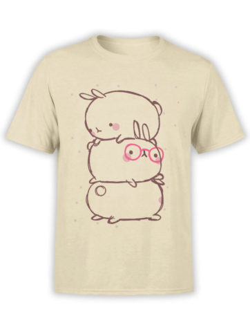 0914 Cute T Shirt Rabbits Front