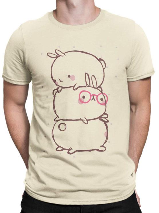 0914 Cute T Shirt Rabbits Front Man