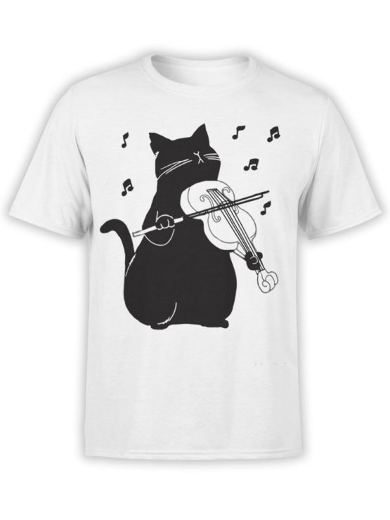 0951 Cool T Shirt Meowsic Front