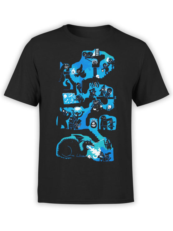 0977 Games T Shirts Dungeons And Dragons Front