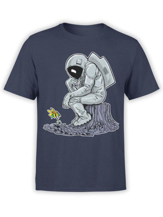 0978 NASA T Shirts The Thinker Front