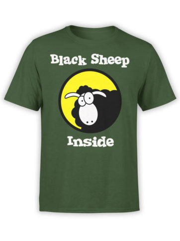 0979 Funny T Shirt Black Sheep Front