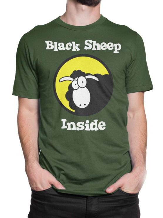 0979 Funny T Shirt Black Sheep Front Man 2