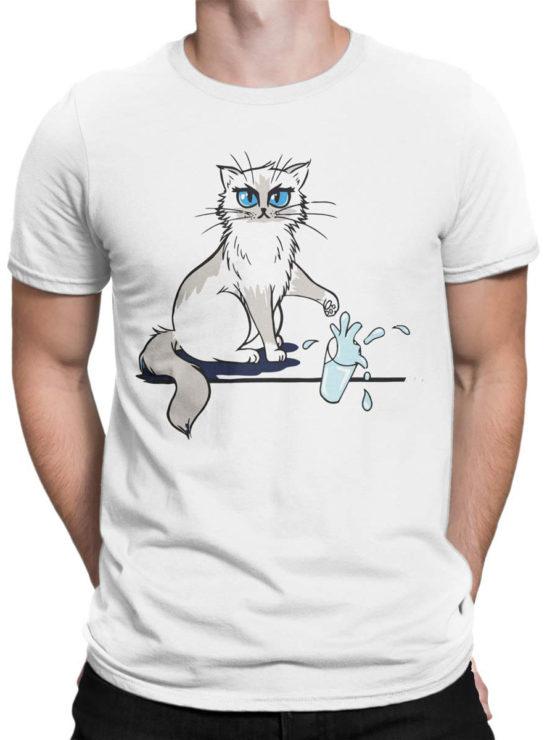 0981 Cat T Shirts No Front Man